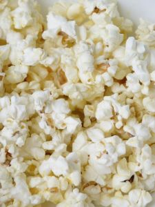 chaff in the popcorn