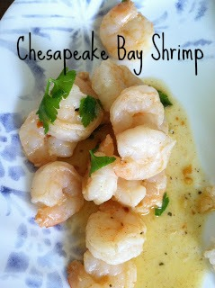 Meatless Fridays: Chesapeake Bay Shrimp