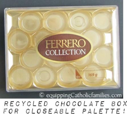 chocolate box palette