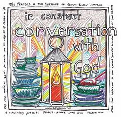 conversation with God July 2013