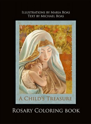 cover-A Child's Treasure - Rosary Meditations Coloring Book