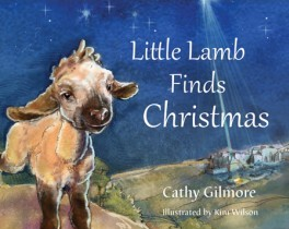 cover-little lamb finds christmas