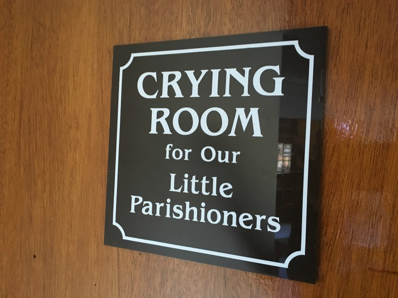 """""""The Crying Room"""" by Laura Phelps (CatholicMom.com)"""
