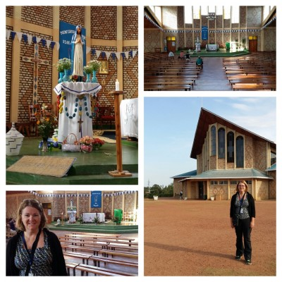 Shrine of Our Lady of Sorrows in Kibeho