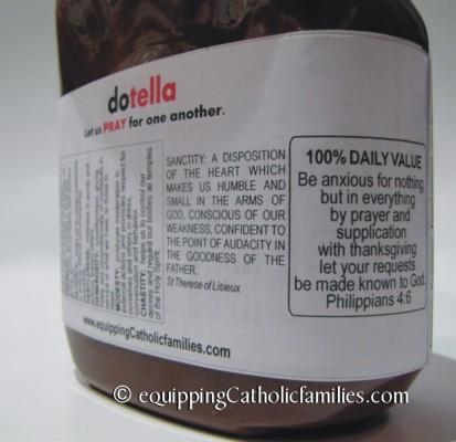dotella Prayer Jar ingredients