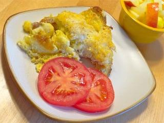 egg casserole Barbara Stein