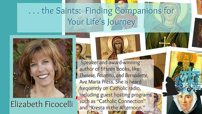"""""""Developing Relationships with the Saints"""" by Hannah Christensen (CatholicMom.com)"""