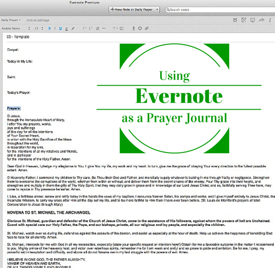 evernotejournal