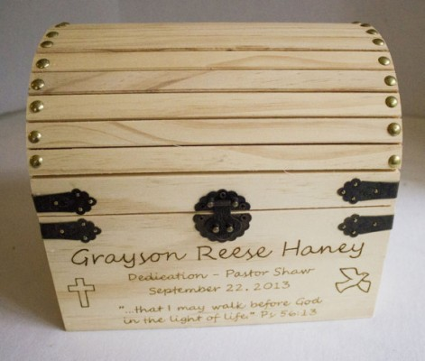 first communion gift memory box