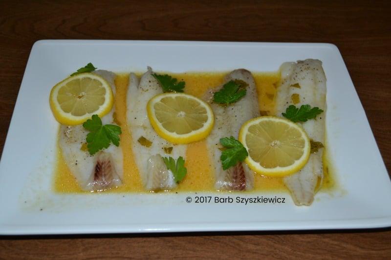 """Meatless Friday: Fish with Citrus Mint Sauce"" by Barb Szyszkiewicz (CatholicMom.com)"