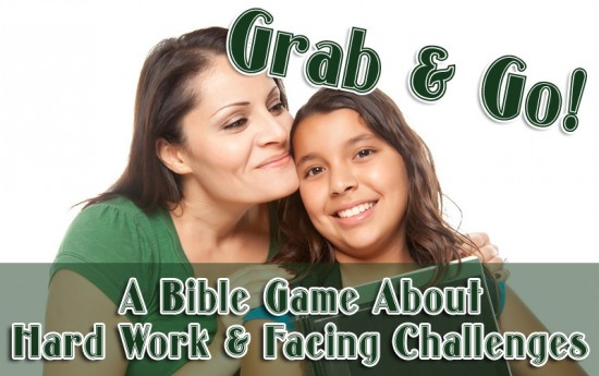 grab and go bible game