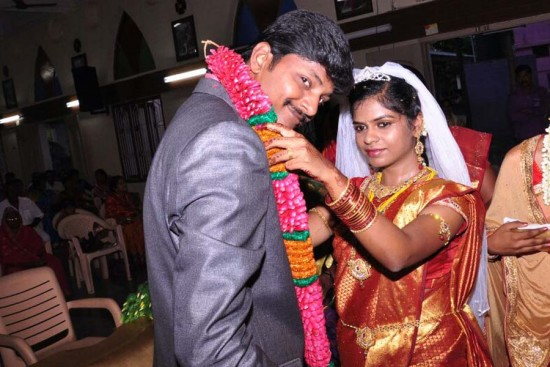 In April, Jeba got married. Her husband, Joe, works as an executive at a large manufacturing company in India.