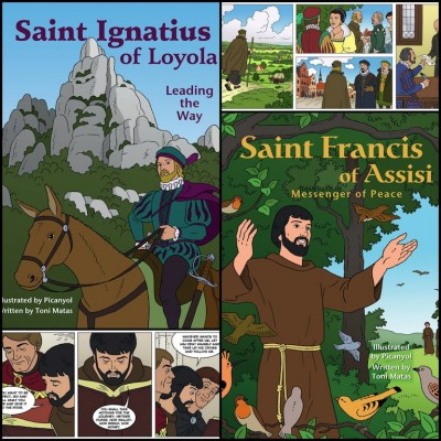 Graphic Novels about St Ignatius and St Francis