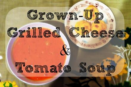 grown up grilled cheese soup