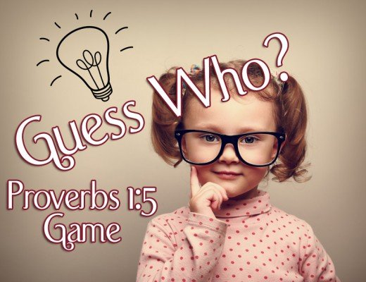 guess who proverbs game