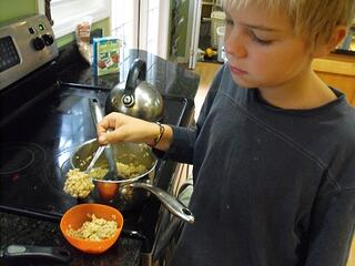 jacob and oatmeal