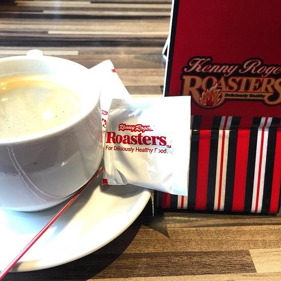 Kenny Rogers' coffee is quite tasty!