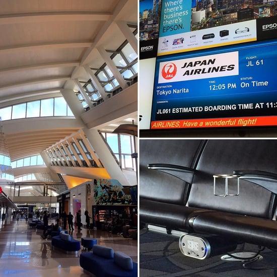 Beautiful Tom Bradley International Terminal at LAX