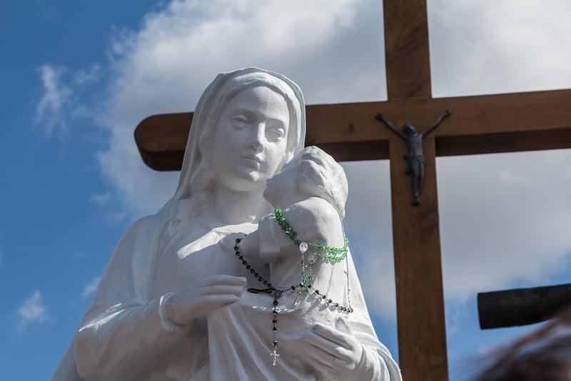 Embracing My Cross by Elizabeth Desiderato
