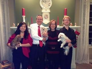 Marsha Kampfl and her family