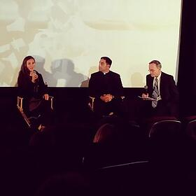 Alissa Jung and Fr. Donald Calloway respond to questions from Ignatius Press' Anthony Ryan following the premiere.