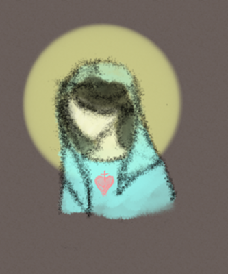 mary sketch