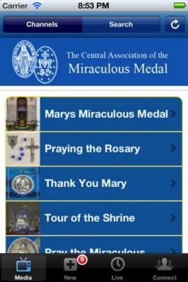 mirac medal app screen480x480