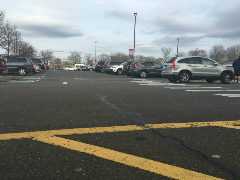 """""""Praise in the parking lot"""" by Laura Mary Phelps (CatholicMom.com)"""