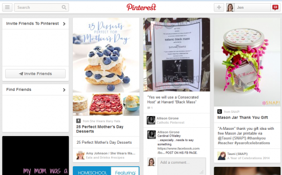 pinterest-home-page