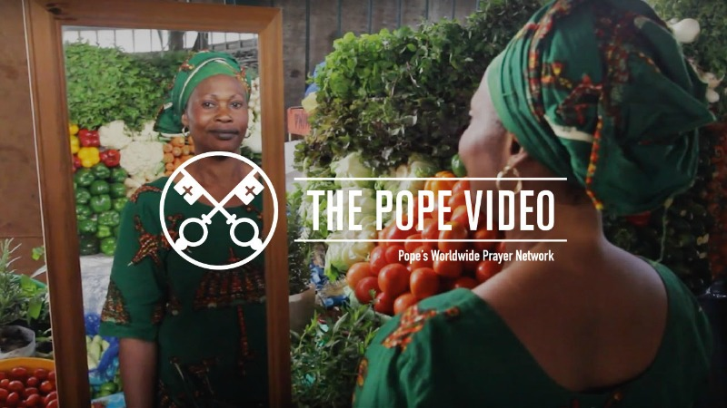 """""""Pope Francis prays for the Christians of Africa, so that they can be witnesses of peace"""" (CatholicMom.com)"""