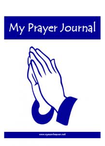 prayerjournal for kids