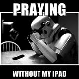praying without ipad
