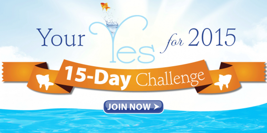 """Join us to give """"Your Yes in 2015"""""""
