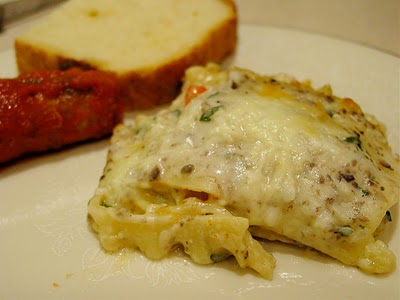 roasted vegetarian lasagna