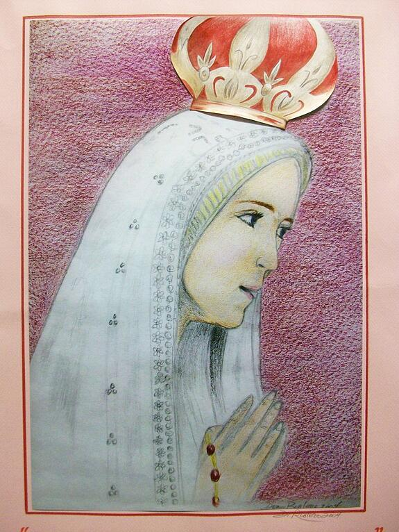 Our Lady of Fatima by Dean Robledo