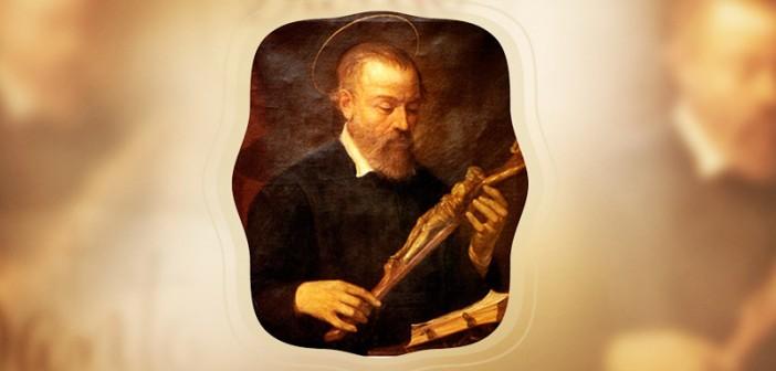 """Saint Jerome Emiliani-Patron of the Orphans"" by Flavia Ghelardi (CatholicMom.com)"