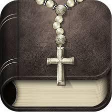 scriptural rosary app logo