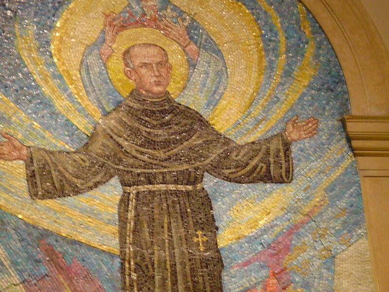 """Striving for faith and courage with St. Maximilian Kolbe"" by Tiffany Walsh (CatholicMom.com)"