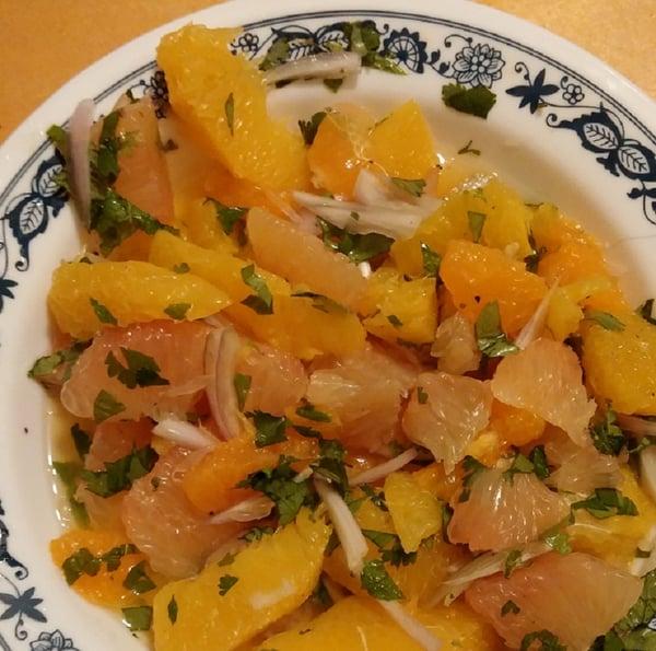 sunshine citrus salsa for CM