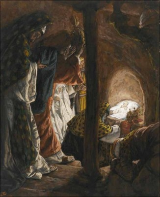 The Adoration of the Magi (L'adoration des mages) by James Tissot