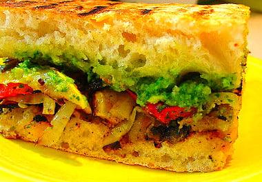 Veggie Sandwich photo by Barbara Stein