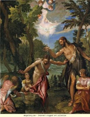 veronese-baptism of christ