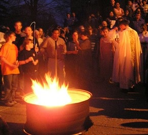 Outside the Easter Vigil, I finally believed.