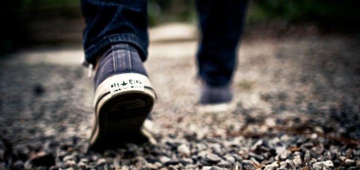 """""""Walking Feet"""" January 3, 2009 via Pixabay. CC0 Public domain."""