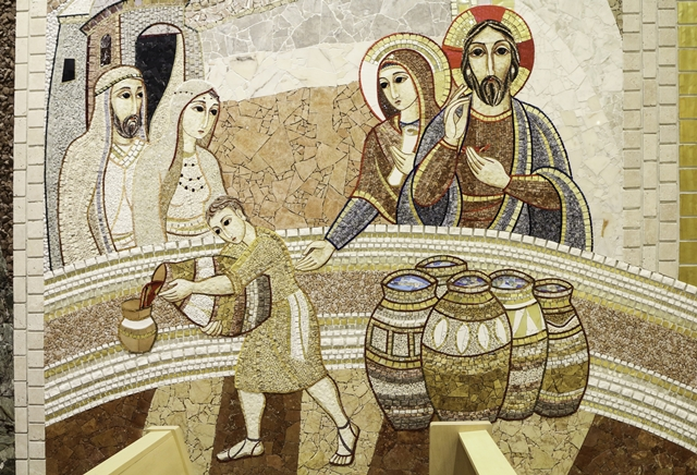 Fr Lawrence Lew, O.P.The Wedding at Cana, Flickr Creative Commons