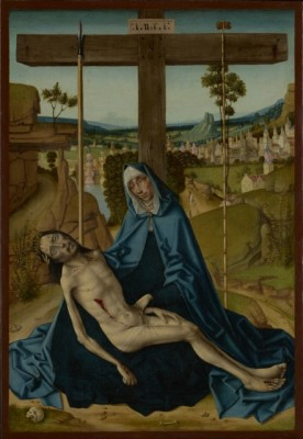 Image: Pieta, Circle of Fernando Gallego, 1490, PD, Digital image courtesy of the Getty's Open Content Program.