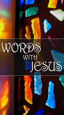 words with Jesus cover