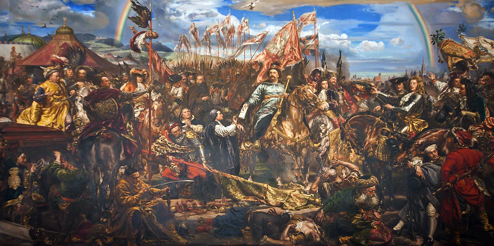 King_John_III_Sobieski_Sobieski_sending_Message_of_Victory_to_the_Pope,_after_the_Battle_of_Vienna_111