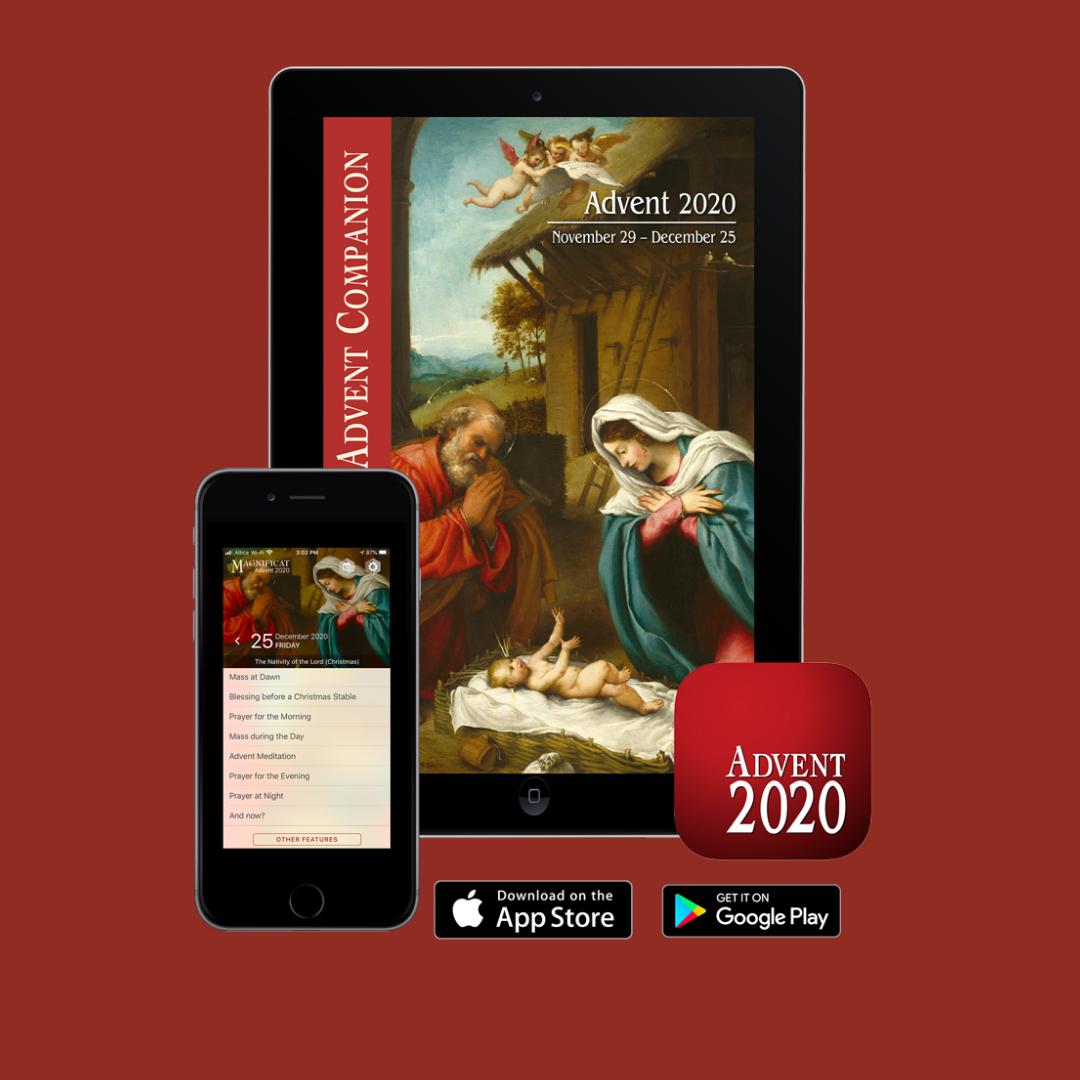 Magnificat Advent app 2020 IG
