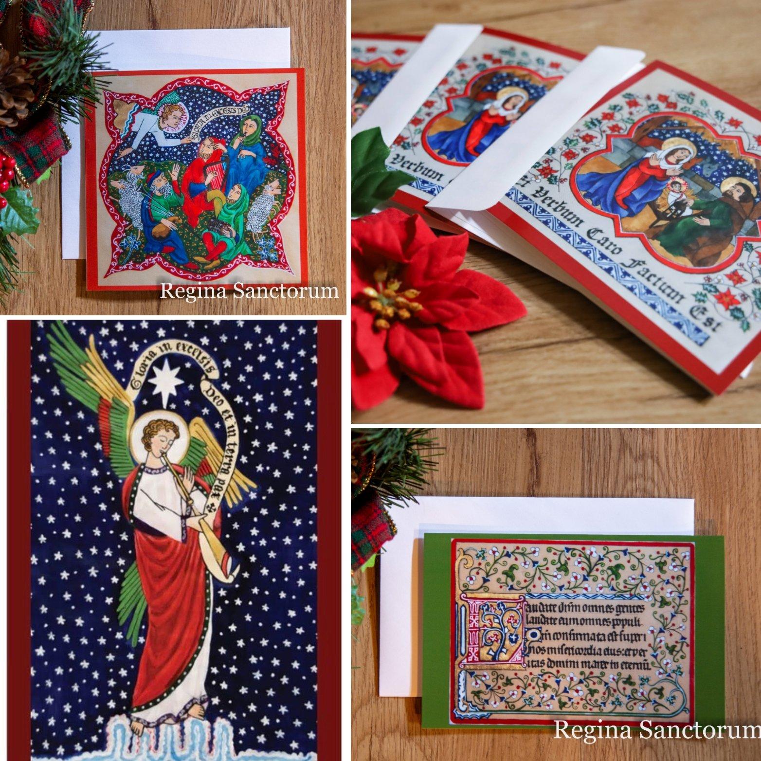 Regina Sanctorum Christmas Card